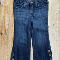 Baby Gap Toddler Little Girls Cute Boot Size 2 Years Bootcut Blue Jeans  Photo