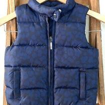 Baby Gap Toddler Puffer Vest Size 3 Years  3t Blue Photo