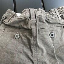 Baby Gap Toddlers Boys Pants 18-24 Months Worn 1x Adjustable Waist Pin Striped Photo