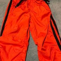 Baby Gap Toddlers Size 2 Years Nylon Pants With Lining in the Inside Orange Photo