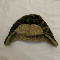 Baby Gap Trapper Camo Fleece Hat Size M/l Photo