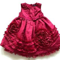 Baby Gap Two Piece Holiday Christmas Dress Size 6-12 Months Photo