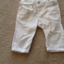 Baby Gap White Capris  Photo