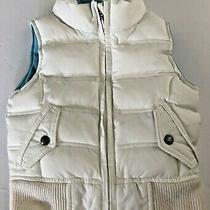 Baby Gap Winter White Puffer Vest Size Xs (4-5) Photo