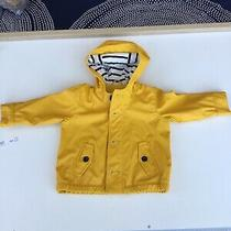 Baby Gap Yellow Rain Coat 0-6 M ( Fits Up to 12 Months ) Photo