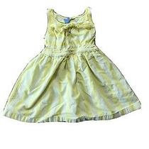 Baby Gap Yellow Stripe Dress 3 Years Photo