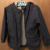 Baby Gap Zip Up Hooded Navy Blue Wind/raincoat Size 4 Years Photo