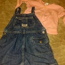 Baby Girl 3-6 Months Ralph Lauren Polo Dress  Very Nice Denim Jumper Dress Photo