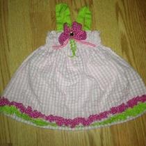 Baby Girl 6-9 Mts Raretoo Boutique Like Mud Pie Uniquegirls Dress Photo