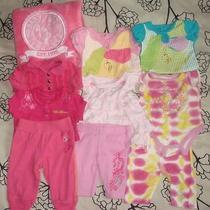 Baby Girl Baby Phat Outfitsonesies  Lot Photo