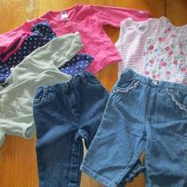 Baby Girl Clothes Lot 6 9 12 Months Baby Gap Carter's Small Wonders Photo