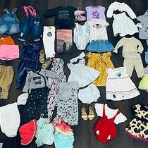 Baby Girl Clothing Lot 0-3-6-12-18 Month Gap Cat & Jack 44 Pieces Photo