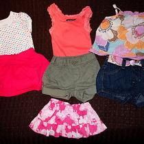 Baby Girl Clothing Lot 0 to 3 Months Old Navy Gap Children's Place Summer Shorts Photo