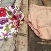 Baby Girl Diaper Cover Bloomers Lot  of 2 6-12 Monthe Baby Gap & Ralph Lauren Photo