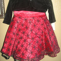 Baby Girl Dress Black & Red Fancy - Brand New Photo