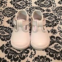 Baby Girl Keds Shoes Size 4 Color White Photo