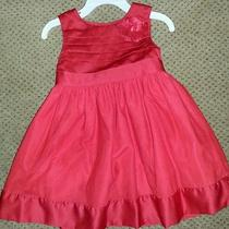 Baby Girl Red Dress Size 24 Months Photo