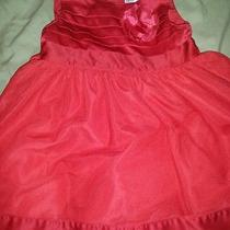 Baby Girl Red Holiday Dress 12 Months Photo