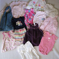 Baby Girl's Clothing Lot Size 3-6 Months Carter's Baby Gap Le Top Tcp Outfit Set Photo