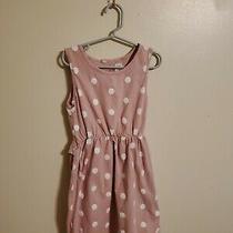 Baby Girl's Gap Kids 8 Pink White Polka Dots Ruffles Cut Out Photo