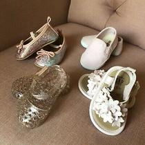 Baby Girl Shoes Size 3-6 Months  Lot of 4  Old Navy & Gap  Spring Easter Photo