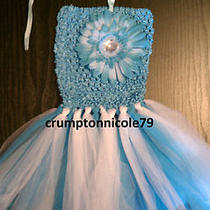 Baby Girl Toddler Spring Summer Crochet Tutu Flower Dress - Girl Summer Clothes Photo