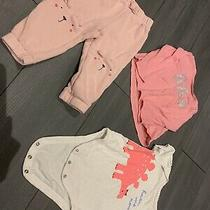 Baby Girls 12-18months Pink Bundle X 3 Items From Gap Photo