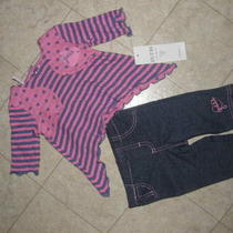 Baby Girls Guess 2-Piece Outfit Size 0-3 Months Photo