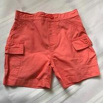 Baby Girls Orange Shorts  Sz  12 M  by Just One You (Carter's) Photo