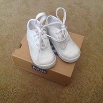 Baby Girls White Keds Photo