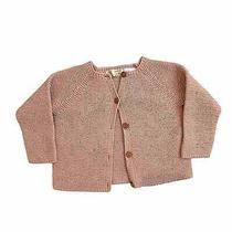 Baby Girls Zara Blush Knit Cardigan Photo