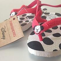 Baby Havaianas Disney Addition - Dalmation - Size Us 5 Eur 21 Photo