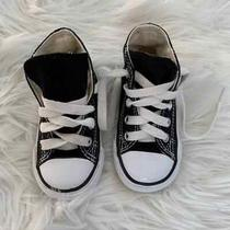 Baby High Top Converse Size 4 Black  Photo