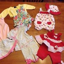 Baby Lot 0-3 Months Baby Lulu Bonnie Baby Baby Gap Euc Photo
