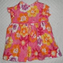Baby Lulu 24 Months Girls Spring Dress Bright Bold Euc Pink Orange Yellow Purple Photo