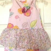 Baby Lulu Boutique Floral Romper Size 9m Photo