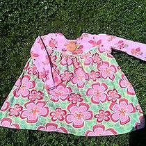 Baby Lulu by Erin Murphy 4t Dress 100% Cotton Comfy Pink Floral Cute Euc  Photo