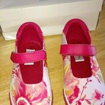 Baby Lulu Girl's Shoes. Size 3. Nwb. Floral Photo