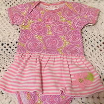 Baby Lulu Girs Dress W/diaper Cover Size 6m Photo