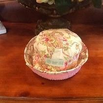 Baby Lulu Pink Ribbona and Chenille Hat Size 9-12 Months New Photo
