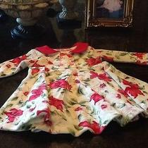 Baby Lulu Poinsettia Velour Dress Size 3 Months Photo