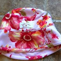 Baby Lulu Reversible Bucket Hat Sz 9-12 Months Nwots Photo