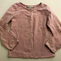 Baby Lulu Rhinestone Angel Wings Pink Top Size 4 Photo