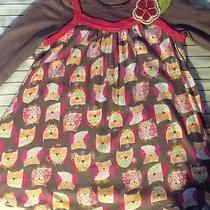 Baby Lulu Size 3 3t Owl Dress Fall Girls Toddler Photo