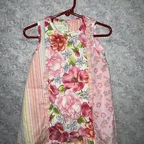 Baby Lulu Toddler Girls Pink Floral Cotton Dress Size 2t Photo