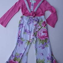 Baby Lulu Two Piece Pants Shrug 3 Floral Photo