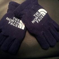 Baby Northface Gloves Blue  Photo