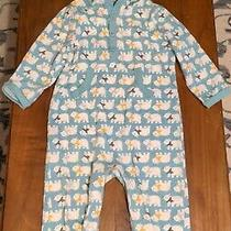 Baby Old Navy Boys One Piece Hooded Pajama Size 12 to 18 Month Photo