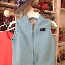 Baby Patagonia Fleece Vest. Baby Blue. 12m Photo