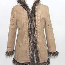 Baby Phat Faux Eskimo Jacket Size Medium W/hood Wow Photo